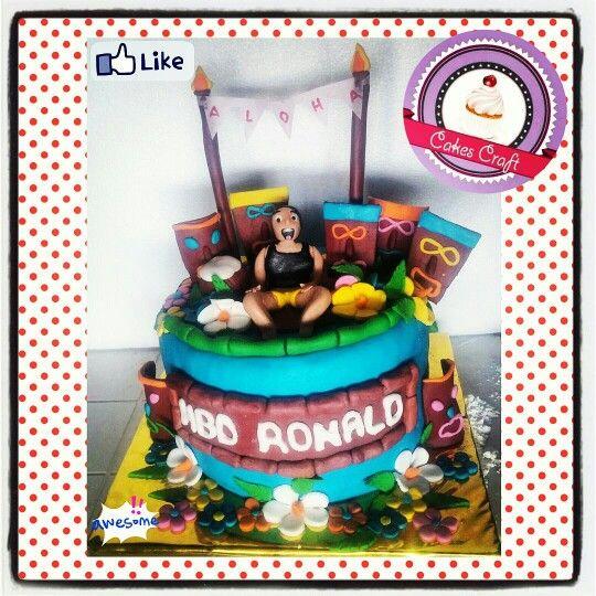 Hawaian cake - Torta hawaiana / CID - 504 #barranquilla #cakestagram #uniautonoma #uniatlantico #uninorte #unilibre #unimetro  #hbd #cumpleaños #CakescraftKeados #cakeboss #cupcakewar #cakescraftbq #airsoft #halamadrid #jamesrodriguez10 #collagecostacaribe #enchufetv #aotronivel #canalcaracol #nomaselectricaribe  #abril #beach #aloha #onolulu #hawai #tuesday #martesdechampeta #martes