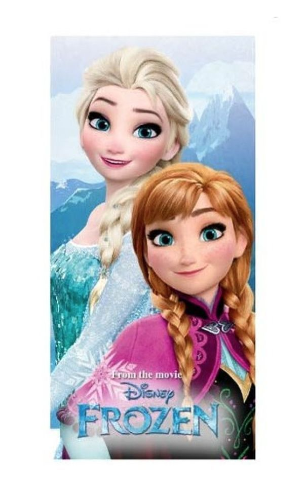 Disney Frozen Handdoek Anna en Elsa