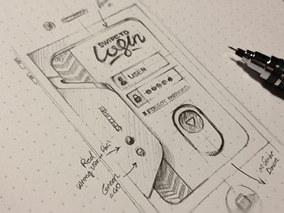 30 Beautiful Sketches from Dribbble