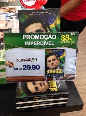 Livro em louvor do Füehrer Sergio Moro encalha nas bancas e livrarias