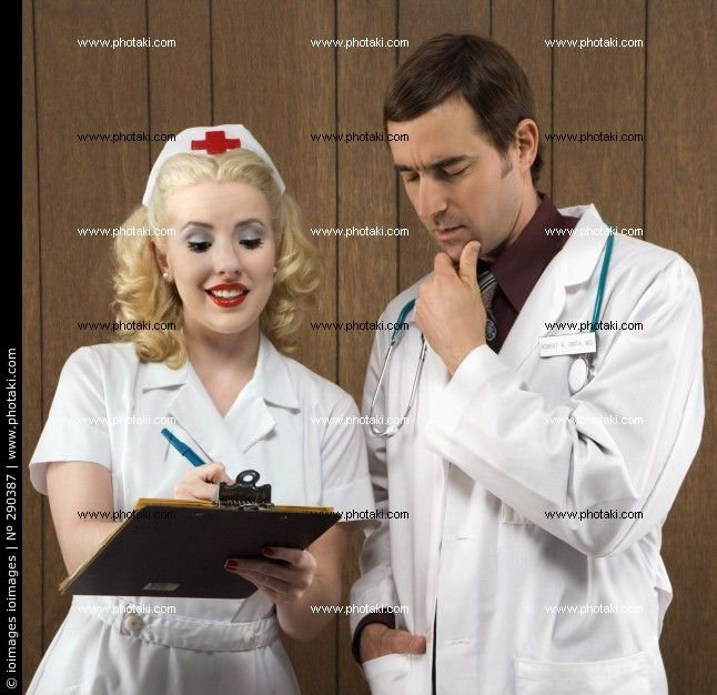 http://www.photaki.com/picture-retro-nurse-and-a-doctor_290387.htm