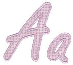 Bunnycup Embroidery | Free Machine Embroidery Designs | Lovely Applique Alphabet
