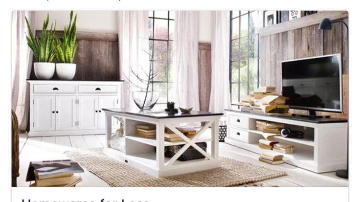 White provincial living room furniture