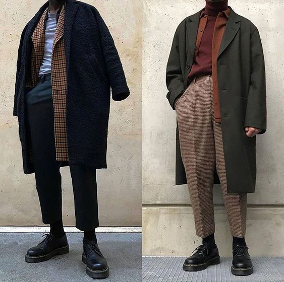 EDGY LAYERING (NED) Mixing muted hues with rare po…