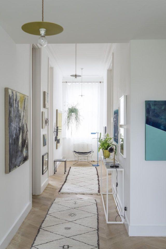 17 meilleures id es propos de d corer long couloir sur for Decoration couloir long