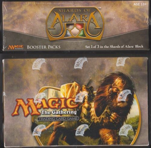 MTG Complete Sets 19114: Shards Of Alara Magic The Gathering Mtg Booster Box Factory Sealed English -> BUY IT NOW ONLY: $289.47 on eBay!