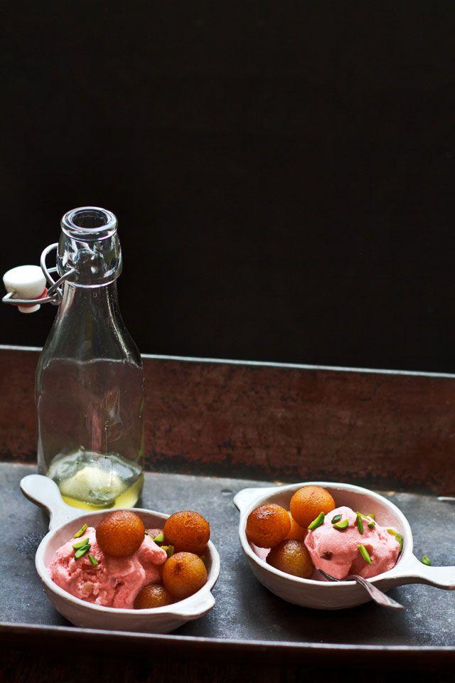 Journey Kitchen: Gulab Jamun With Rose Ice cream