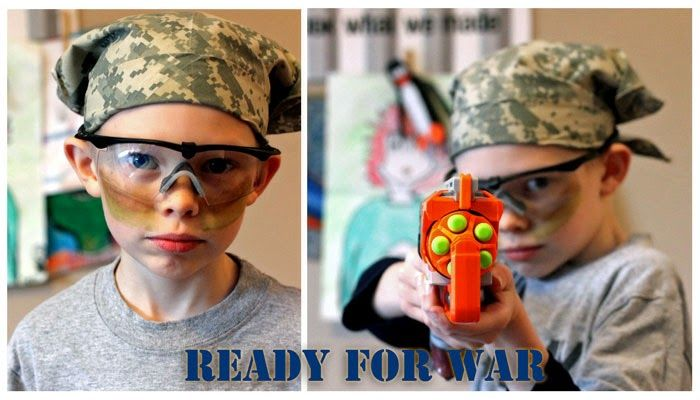 Everything That I Need: Nerf Wars Birthday party