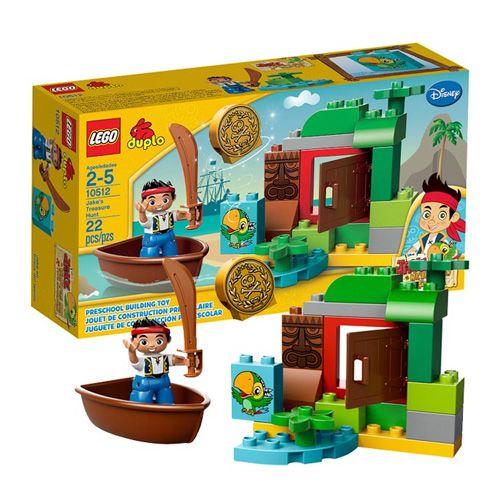 Lego Duplo 10512 Лего Дупло Джейк Охота за сокровищами - купить в интернет-магазине игрушек для детей TOY.RU