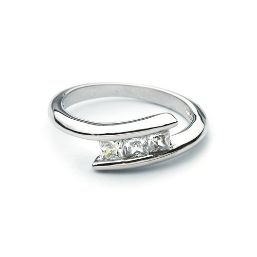 Pristine Ring with Cubic Zirconia