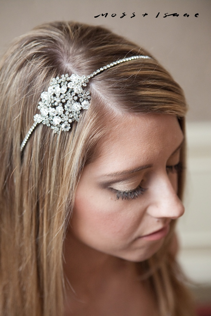 Makeup: http://www.majorface.com/  Accessories: http://www.happilyeverborrowed.com  Photography: http://www.mossandisaac.com  Hair: http://www.fabartistry.com  Event Space: http://www.cornellclubnyc.com    Terri Headband - Avant Bride $85