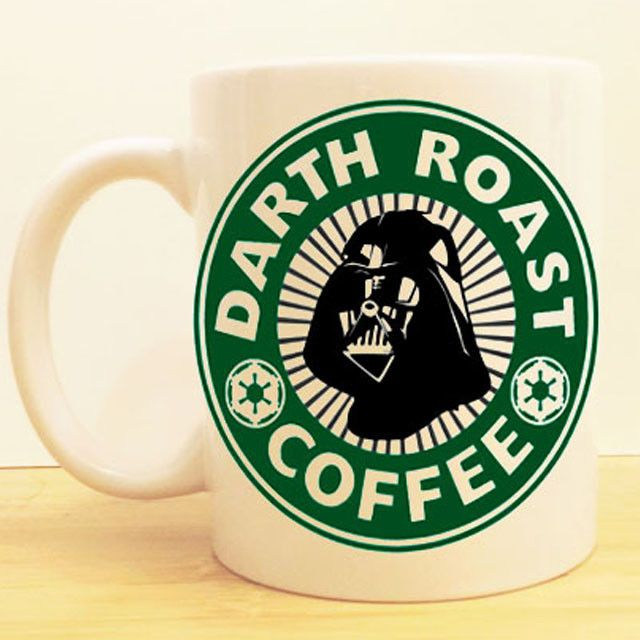 """Darth Vader's """"Dark Roast Coffee"""" Join the dark side! We have coffee. ★Ceramic Mug 11oz ★Dishwasher/microwave safe ★Doesn't scratch off ★Message me if you want any custom mugs! Contact us at shopwolff"""