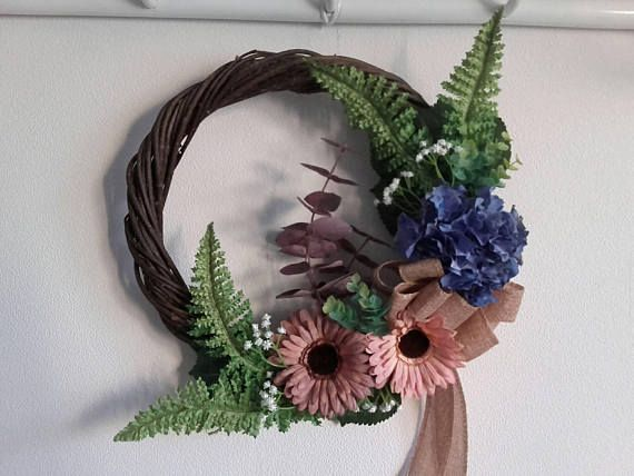 Check out this item in my Etsy shop https://www.etsy.com/listing/558390558/floral-wreathfront-door-wreathdoor