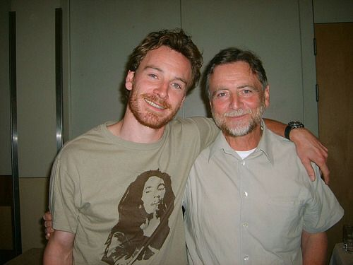 Michael Fassbender and his dad