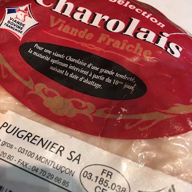 明日の数量限定ランチBはフランス産シャロレ牛ミスジ肉のビーフカツサンドです🍖  で、シャロレ牛て?⏬⏬ http://www.bistro-bonapp.com(←プロフィール欄からなら入れます) #シャロレー牛 #みすじ #肉#赤身肉#charolais #viande#boeuf#meat #beef #西大橋#四ッ橋#新町#西長堀#堀江#北堀江#フレンチ#ビストロ#ボナップ#french #cuisine #france #cuisinefrancaise #bistro #bonapp