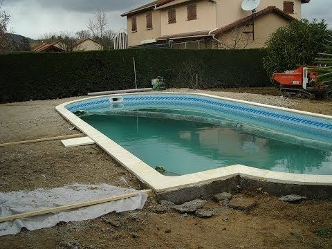 Diy Inground Pool >> Build your own inground concrete swimming pool diy step by step - YouTube | Concrete swimming ...