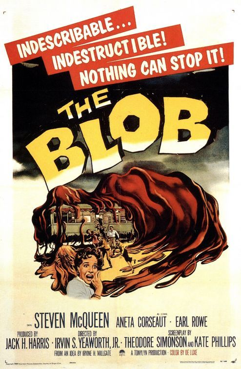 The Blob Movie Poster - Internet Movie Poster Awards Gallery