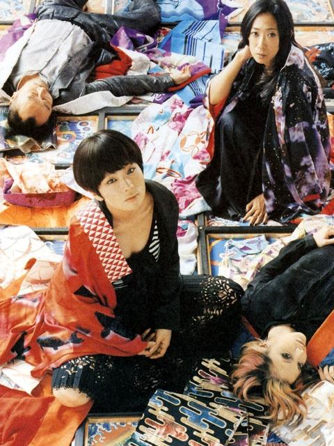 Shiina Ringo, Ninagawa Mika and Saito Neko.