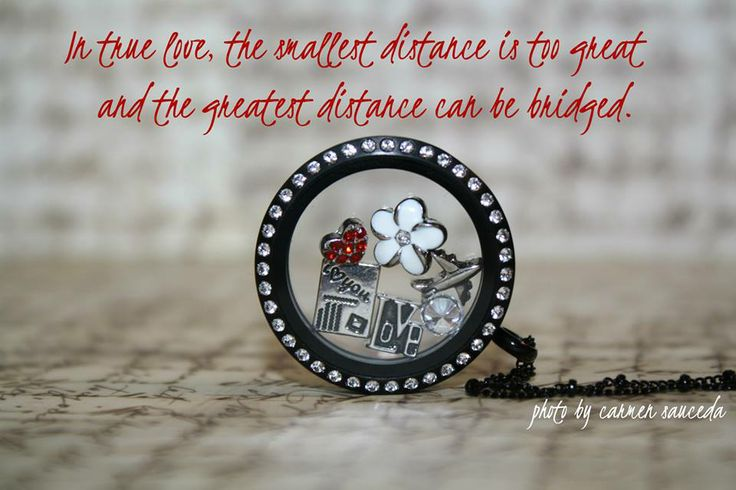 #origamiowl #love #longdistance #postcard I spent a good amount of time dating my husband from a long distance.  This quote sure is true.  www.carmensauceda.origamiowl.com www.facebook.com/OrigamiOwlByCarmenSauceda