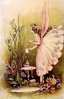 fairies...antique illustrations...free printables