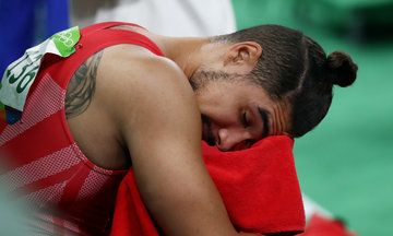 People Are Genuinely Blaming Louis Smith's Man Bun For Team GB's Gymnastics Disappointment