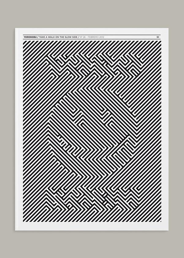 Yorokobu Cover Design *Concurso Hazlo Tú* by Paul Smile, via Behance