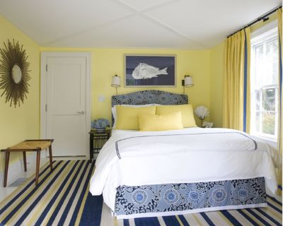 17 Best Ideas About Navy Yellow Bedrooms On Pinterest Blue And Yellow Bedro