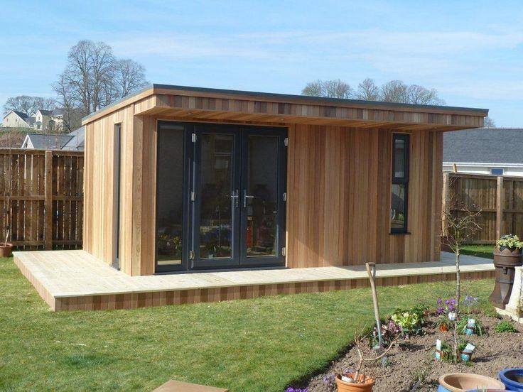 38 best images about garden office on pinterest gardens for Garden room 7m x 5m