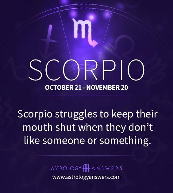 No, this Scorpio doesn't struggle with this. I just keep quiet and avoid the assholes.