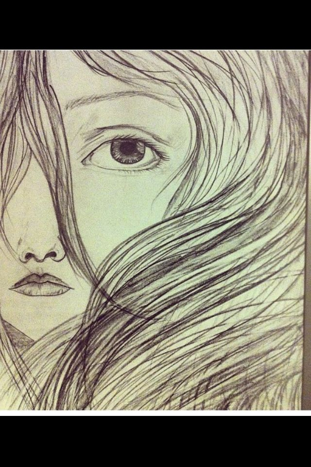 One of my earliest sketches . My personal favorite. Her name is Alice