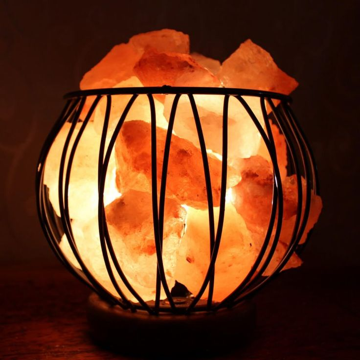 Small fire Cage wooden base