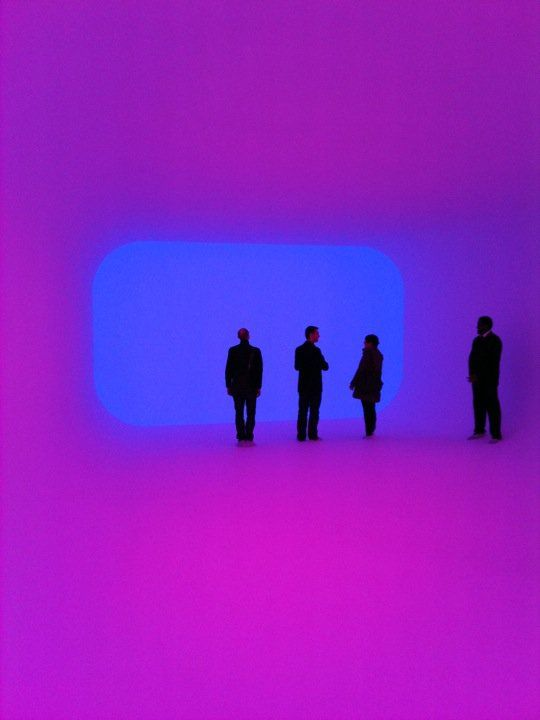 James Turrell. I swear I won't forget his name again! His pieces are so disorienting in person.