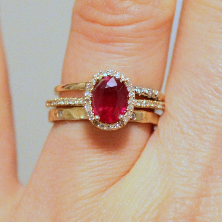 44+ Ruby wedding band yellow gold ideas in 2021