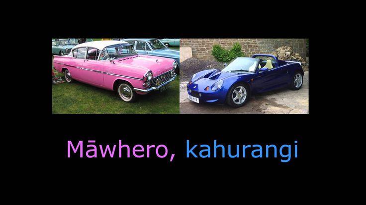 He Aha Te Tae - Colour Song in Te Reo Māori