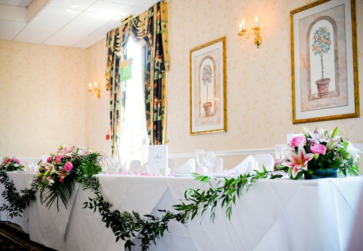 Make your head table of your room.  Real Weddings.  Miami