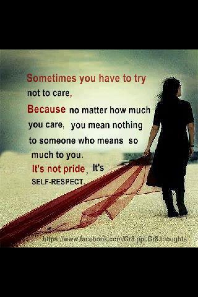 quotes about not caring - photo #23