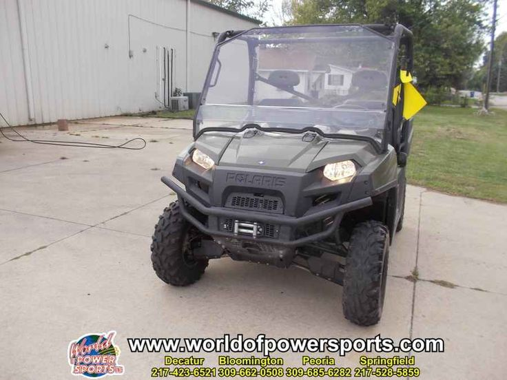 Used 2013 Polaris RANGER RANGER 800 EPS ATVs For Sale in Illinois. 2013 Polaris RANGER RANGER 800 EPS, Used 2013 POLARIS RANGER 800 EPS UTV owned by our Decatur store and located in DECATUR. Give our sales team a call today - or fill out the contact form below.