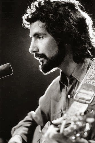 Cat Stevens- love his songs- love his guitar, good looking too. triple threat