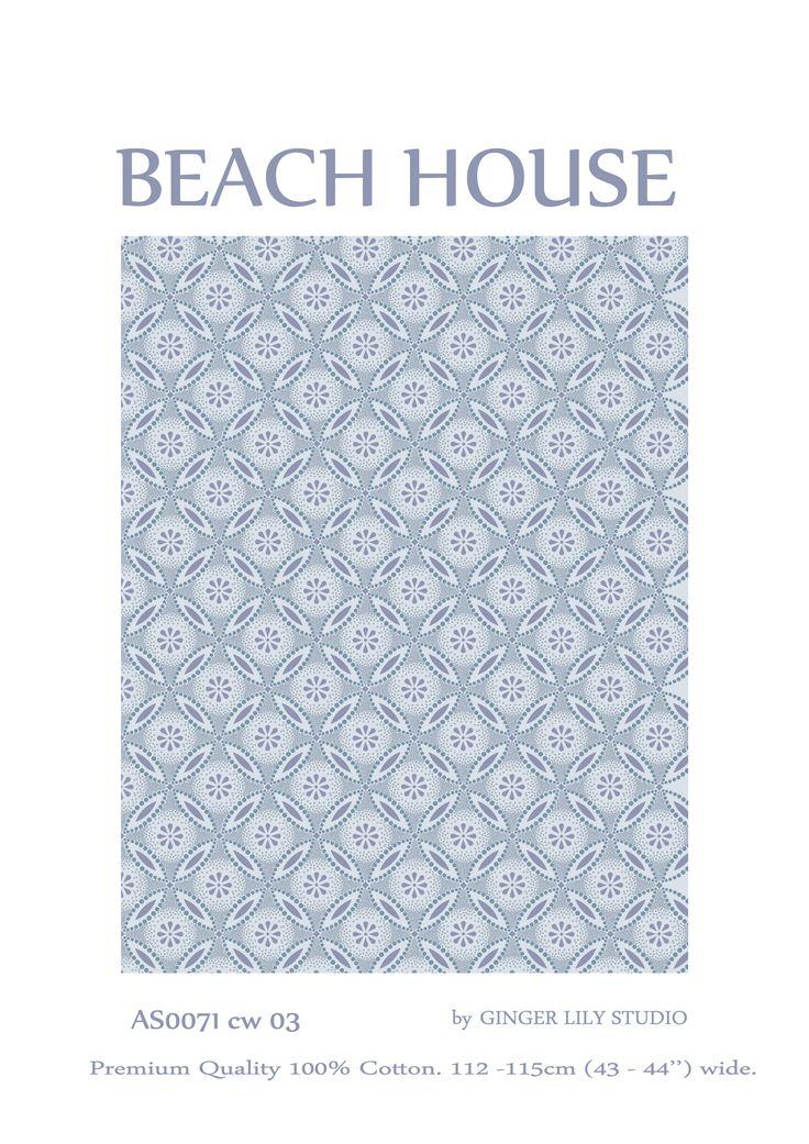 African Sky - Beach House AS0071 CW03 http://www.eqsuk.com/find-a-stockist #EQS #AfricanSky #BeachHouse