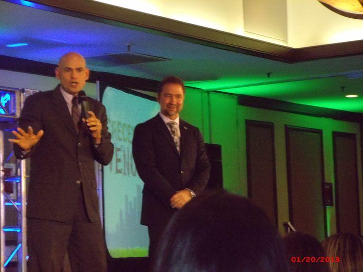 Juan Rosado & Dr. Herminio Nevarez,  2013