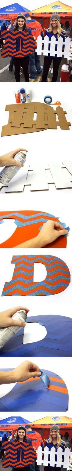 Create a Chevron Pattern D Fence Sign | D Fence Sign | Defence Sign | CraftCuts.com