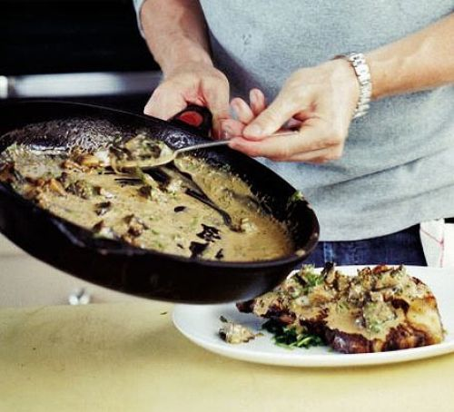 Mushroom, Sherry & Grain Mustard Sauce (BBC Good Food) ***