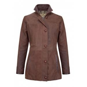 Dubarry Goldsmith Ladies Jacket - £539.10 www.countryhouseoutdoor.co.uk - Made from Dubarry's signature crushed leather which has been tumbled for added softness and drape the Goldsmith is durable and will gain character over time. With contrast smooth leather detailing and buttoned placket the Dubarry Goldsmith Jacket is the perfect lifestyle jacket that will last a lifetime.