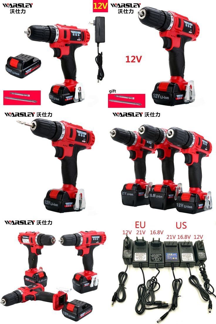 [Visit to Buy] 12v Electric Cordless Drill 2 Batteries Screwdriver  power tools Like  Speed Dremel perceuse sans fil Power tools Mini Drill  #Advertisement