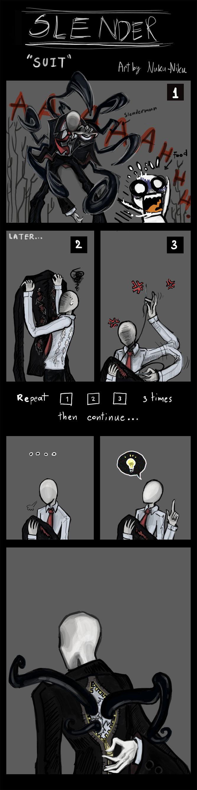Slenderman 'SUIT' by NukuNiku on DeviantArt