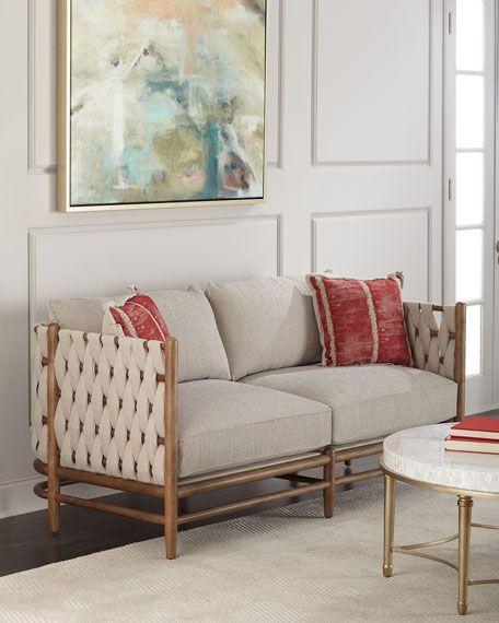 Maynard Woven Side Sofa in 2018 Furnishings - Sofas Pinterest