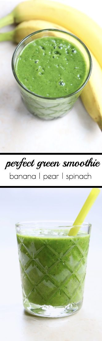 Healthy breakfast smoothie with 226 calories and only 2 grams of sugar per serving.