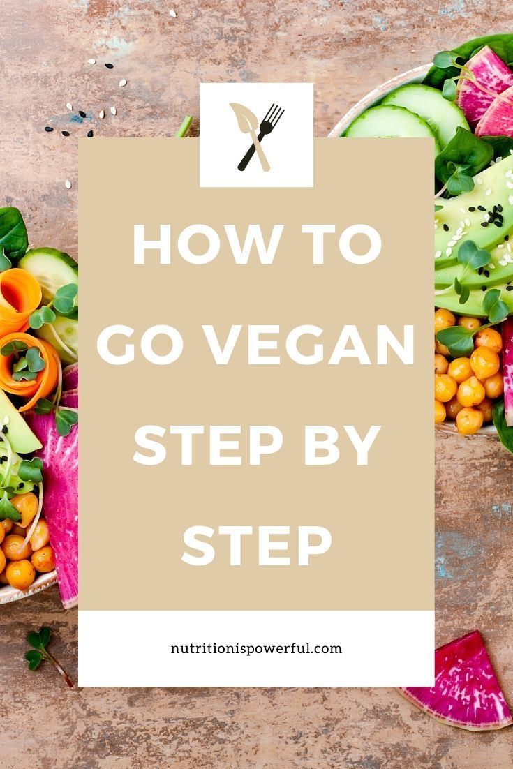 How To Go Vegan Step By Step Going Vegan How To Become Vegan Vegan