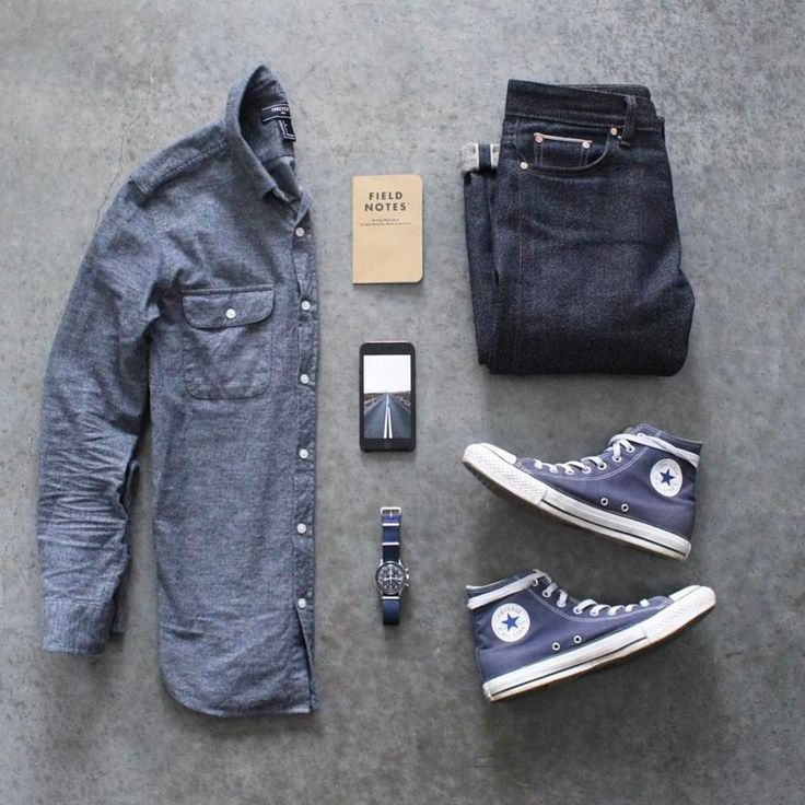 Shirt: @forever21 Denim: @sosobrothers Shoes: @converse Watch: @omega