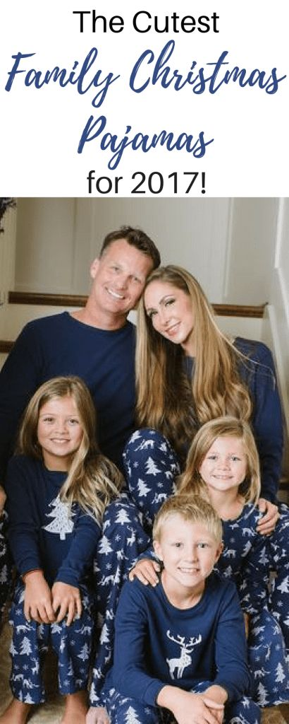The Cutest Matching Christmas Pajamas!   Raising Richmonds